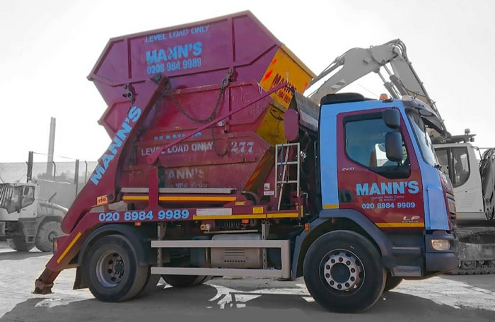 Our Skip Hire East London Trucks