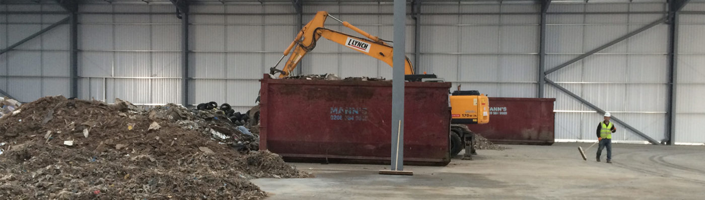 Rubbish Removal Leytonby Manns Waste Management