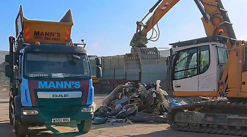 Rubbish Removal Wanstead Site Clearance