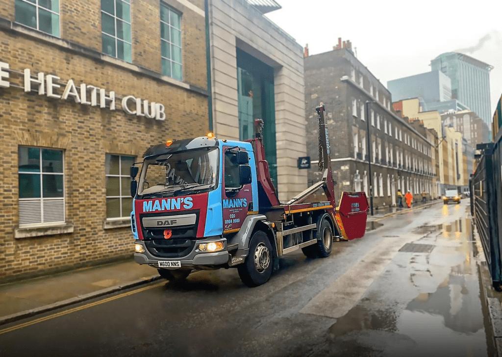 Our Skip Hire East London Trucks