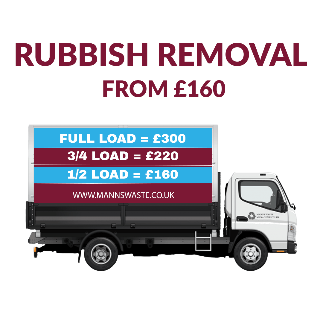 Rubbish Removal East London from Manns Skips