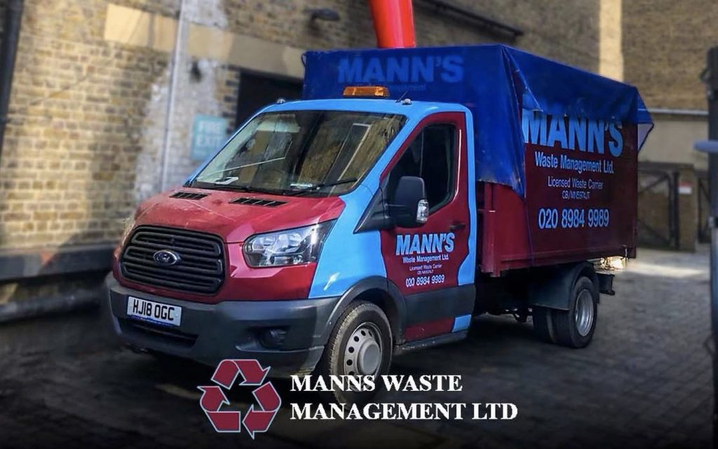 Rubbish Removal West Ham - Fly Tipping Clearance by Manns Waste