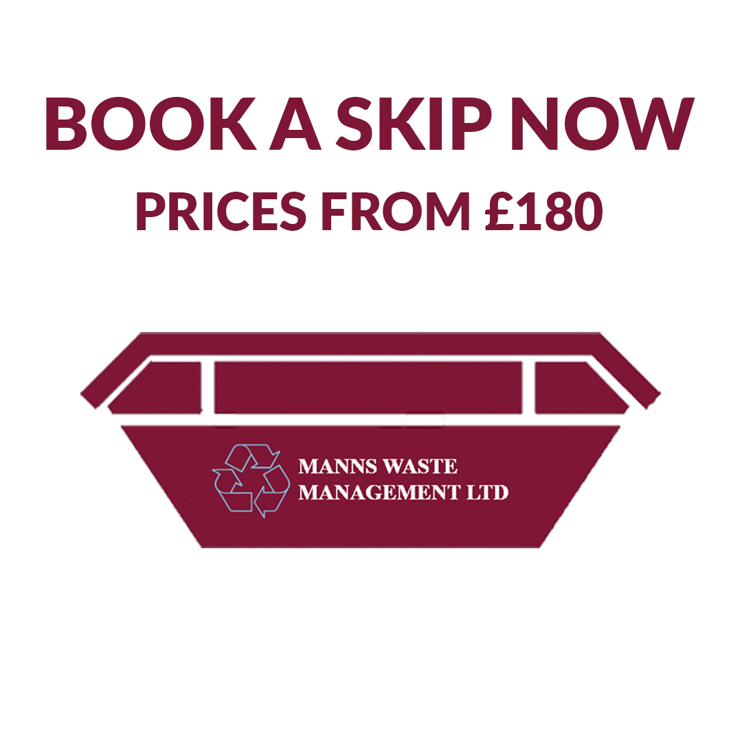 Skip Hire East London from Manns Skips